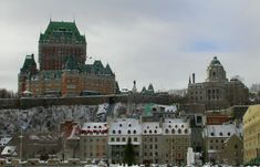 Château Frontenac and Place Royale.
