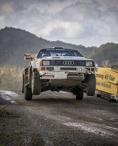 Flat out - rally on