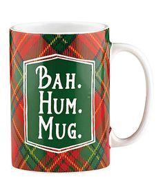 Love this Bah. Hum. Mug. Ceramic Mug on #zulily! #zulilyfinds