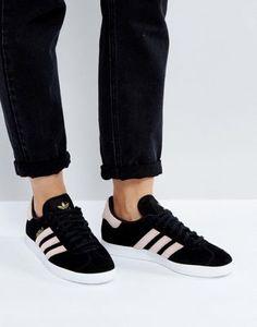 online store c8961 87417 Discover Fashion Online Black Gazelles, Adidas Shoes Women, Pumas Shoes,  Fashion Mode,