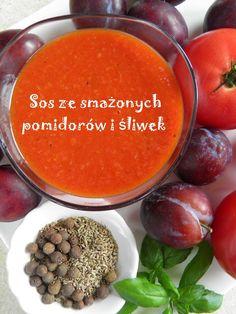 Sos ze smażonych pomidorów i śliwek | sio-smutki! Monika od kuchni
