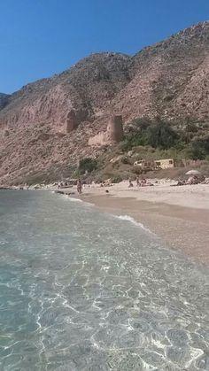 Cala San Pedro | Almería | Spain San Pedro Spain, Destinations, Beach Vibes, Andalucia Spain, South Of Spain, Spain Holidays, Holiday Places, Beach Wear, City Beach
