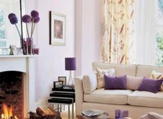 Living room ideas must be planned properly. We have many creative decorations that can be applied into your living room easily with low budget. Art Deco Living Room, Desk In Living Room, Simple Living Room, Small Living Rooms, Living Room Furniture, Living Room Designs, Lavender Living Rooms, Burnt Orange Living Room, Living Room Remodel