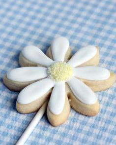daisy cookie treats