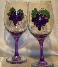 Copa ramo de uva
