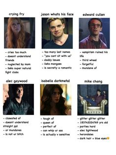 Shadowhunters tag yourself Shadowhunters Malec, Shadowhunters The Mortal Instruments, Dark Hair Blue Eyes, Mike Chang, Cassandra Clare Books, Alec Lightwood, In This House We, Partying Hard, The Infernal Devices