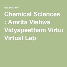 Chemical Sciences   Amrita Vishwa Vidyapeetham Virtual Lab Fisicoquímica 5f6a9df9340d1