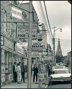 a. aubrey bodine photography of baltimore | ... about BS PHOTO Main Street Baltimore Maryland 1965 by Aubrey Bodine