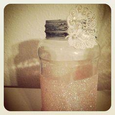 My decorated change jar