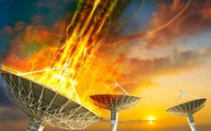 """Mysterious Space Signal Indicates """"Missing Matter"""" in."""