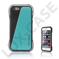 """Aalto (Blå) iPhone 6 Skal  Cyan / blått mobilskal till Apple iPhone 6 (4.7"""") som kan förvara dina kreditkort på insidan!"""
