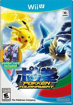 Pokkén Tournament (Nintendo Wii U Pokemon Shadow MewTwo Amiibo Card New Wii U Games, Video Games Xbox, Mega Pokemon, Pokemon Games, Pokemon Stuff, Playstation, Nintendo 3ds, Nintendo Switch, Super Nintendo