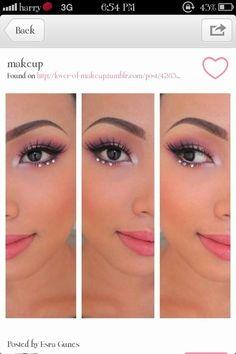 Glinda makeup ideas