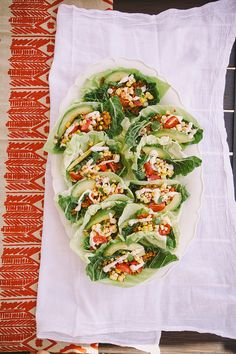 Always blown away by Laura's work, but these raw + vegan tacos are a must make SOON. via @Laura | The First Mess