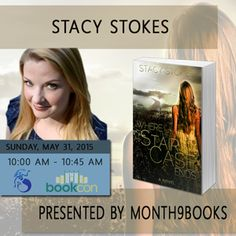 Stacy Stokes will be signing Where The Staircase Ends!