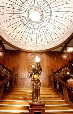 Grand Staircase The titanic