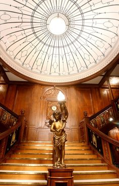 Grand Staircase The titanic