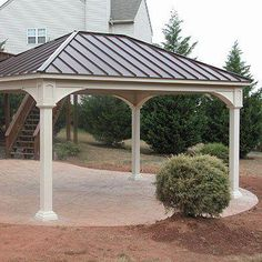 Eye-Opening Useful Ideas: Flat Roofing Ranch roofing types style. Pergola Ideas For Patio, Pergola Garden, Pergola Plans, Pergola Kits, Carport Plans, Carport Ideas, Pergola Shade, Outdoor Ideas, Vinyl Pergola