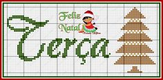Elf, Diy And Crafts, Cross Stitch, Christmas Tree, Kids Rugs, Embroidery, Holiday Decor, Link, Cross Stitch Fruit