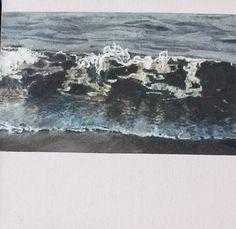 www.nerinetassie.com Sky Landscape, Sky Art, Ocean Waves, Ethereal, Woodland, Artist, Landscapes, Edinburgh, Outdoor