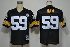 http://www.xjersey.com/pittsburgh-steelers-59-ham-black-throwback-jerseys.html PITTSBURGH STEELERS 59 HAM BLACK THROWBACK JERSEYS Only $34.00 , Free Shipping!