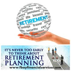It's never too early to think about RETIREMENT PLANNING...For more info, please call 407-245-7304 or 888-405-4866 or email us at antonio@fbayfinancialservices.com #retirementplanning #florida #fbayfinancialservices Early Retirement, Retirement Planning, Life Insurance Quotes, Tax Deductions, Savings Plan, Florida, Advice, How To Plan, Tips