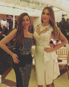 Sofia Vergara Son See More Night And Day The  Year Old Showed Off Her Slim Waistline In