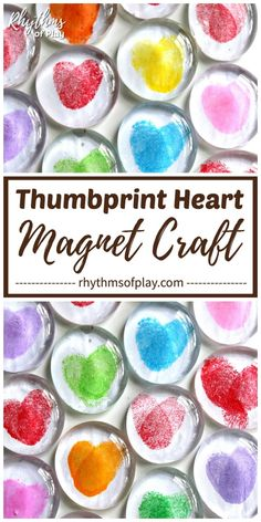 gifts for kids DIY Thumbprint Heart Glass Gem Magnets are a homemade keepsake gift idea kids can make. Thumbprint heart magnets are easy handmade gifts for Mothers Day, Fathers Day, or Valentines Day. Make some heart magnets with your children today! Diy Gifts Cheap, Easy Handmade Gifts, Diy Gifts For Kids, Diy Crafts For Gifts, Diy For Teens, Diy For Kids, Kid Craft Gifts, Diy Crafts With Kids, Crafts Toddlers