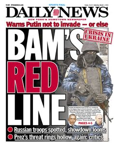 "Daily News on Ukraine: ""BAM'S READ LINE"""