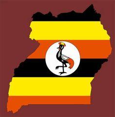 Flag map of Uganda We Are The World, Flags Of The World, Countries Of The World, Africa Flag, East Africa, Uganda Flag, African States, African Nations, Uganda Travel