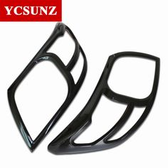 For Toyota Hilux Accessories ABS Carbon Fiber Color Headlight Cover Trim Front Lamp Hoods For Toyota Hilux Vigo 2012-2014 Ycsunz #Affiliate
