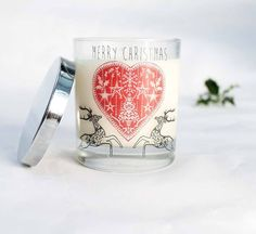 the christmas candle by hearth and heritage