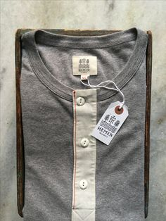 Hemen Henley - does not come any better ... #hemen #workwear #heritagewear