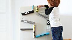 Kühlschrank Murmelbahn - Geniale Idee