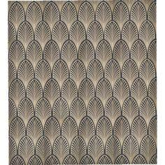 """""""Art Deco fan"""" pattern"""