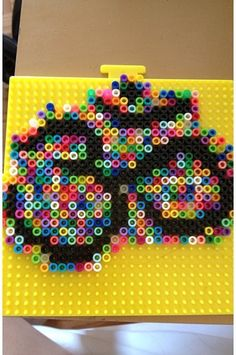 Om perler-I'd change up the colors a bit though so its more visible
