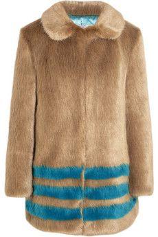 Shrimps Wilma faux fur coat | NET-A-PORTER It's Fur Fun