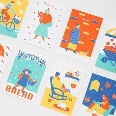 Graphic Design Bridgeday Silkscreen Postkarte Growing Tropical Plants in Non-Tropical Reqions Tropic Poster Design, Print Design, Graphic Design Illustration, Digital Illustration, Kalender Design, Posca Art, Grafik Design, Illustrations And Posters, Graphic Design Inspiration