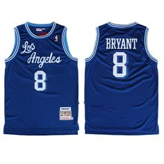 d666678ce Kobe  Bryant Jersey - Los Angeles  Lakers 8 Blue Throwback Jersey. The name  and numbers are stitched.  16.88