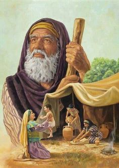 Abraham is a good model to look up to, because Jehovah (Abraham's God) called Abraham His friend. BUT Abraham is not to be worshipped as an idol or god. Abraham Bible, Story Of Abraham, Father Abraham, Bible Pictures, Jesus Pictures, Lds Art, Bible Art, Bible Heroes, Abraham And Sarah