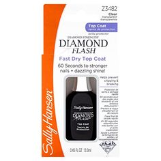 Sally Hansen Treatment Diamond Flash Fast Dry Top Coat, 3482, 0.45 Fluid Ounce >>> For more information, visit image link.