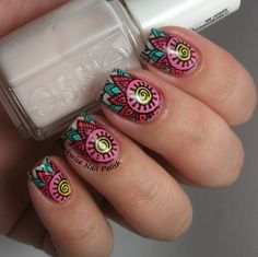 The Clockwise Nail Polish: Born Pretty Store BP-55 Stamping Plate Review