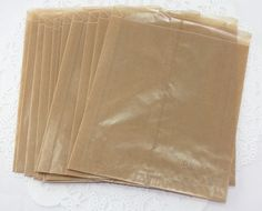 QTY+25+Large+Brown+Wax+Paper+Bags++8+x+6+x+2+by+ThePaperSandbox,+$3.00