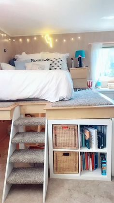 Bedroom Decor For Small Rooms, Cute Bedroom Decor, Bedroom Decor For Teen Girls, Cute Bedroom Ideas, Room Design Bedroom, Girl Bedroom Designs, Room Ideas Bedroom, Home Room Design, Cool Rooms For Girls