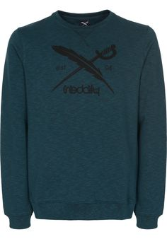 iriedaily Slub-Logo-Crew - titus-shop.com  #Sweatshirt #MenClothing #titus #titusskateshop