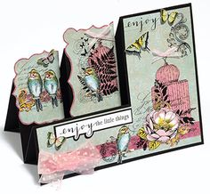 Mystic Garden Stamp Set by Hot Off The Press Inc (4101188) - What a pretty card!
