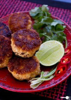 {5 ingredient} Spicy Thai-inspired fish cakes