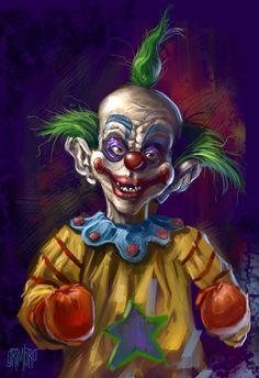 shigeru onda et audrey saint-yves sont un vieux couple cinglé Halloween Clown, Gruseliger Clown, Clown Horror, Creepy Clown, Circus Clown, Arte Horror, Creepy Art, Halloween Horror, Insane Clown