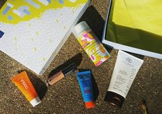 You knocked this one out of the park @birchbox. This may be my favorite box from the past 5 years! Not everything is new to me and I actually love that. The sample sizes are #amazing. Love that you're offering #physical #sunblock as #chemical alternative.  #cosmetichaulic #may #may2016 #subscriptionbox #vitaliberata #coola #amika #mdsolarsciences #modelco #selftanners #primer #spf #minerals #block #daily #Lipgloss #boxes #love #pretty
