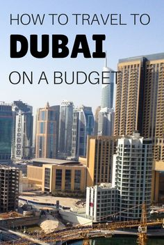 In this guide you will have tips on how to save on activities, accommodation, food, transport and alcohol to travel to Dubai on a budget - United Arab Emirates
